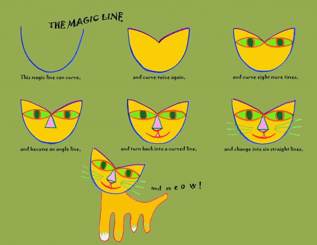 the magic line_cat